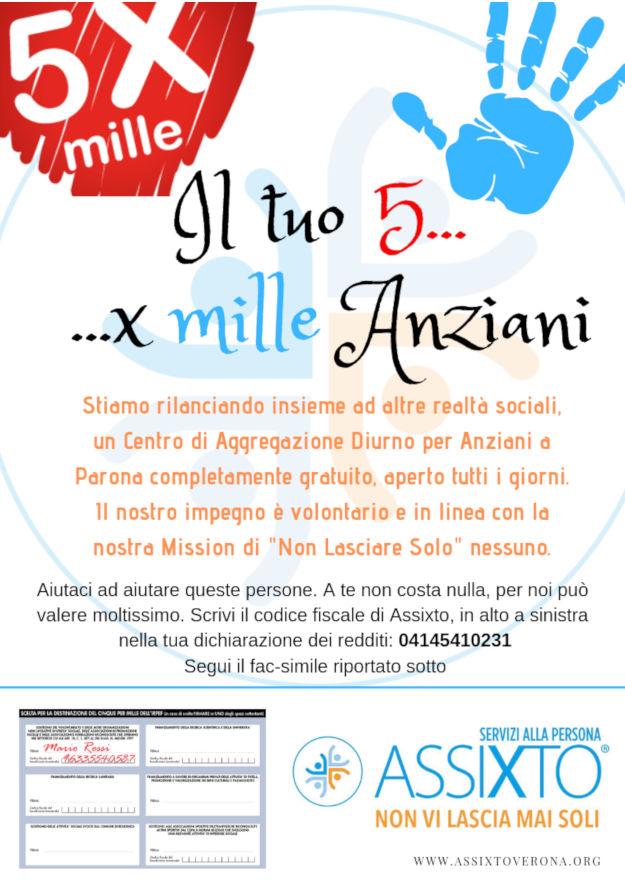 5xMille Assixto - Come donare
